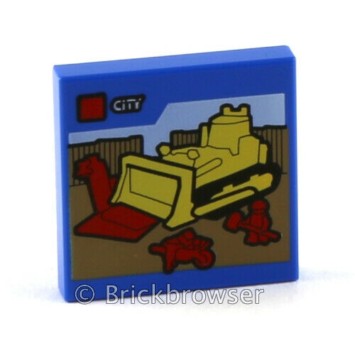 NEW LEGO Part Number 3068.026 in Bright Blue