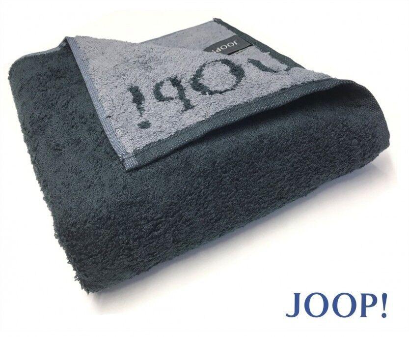 Joop    1600 Classic DOUBLEFACE garza Asciugamano duschtuch Sauna panno 97 Nero 779365