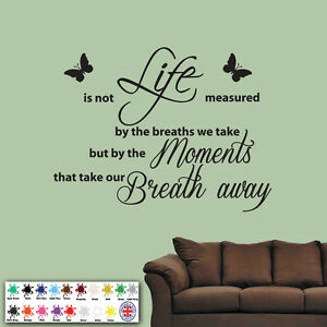 Image Is Loading Life Is Not Measured By The Breaths We
