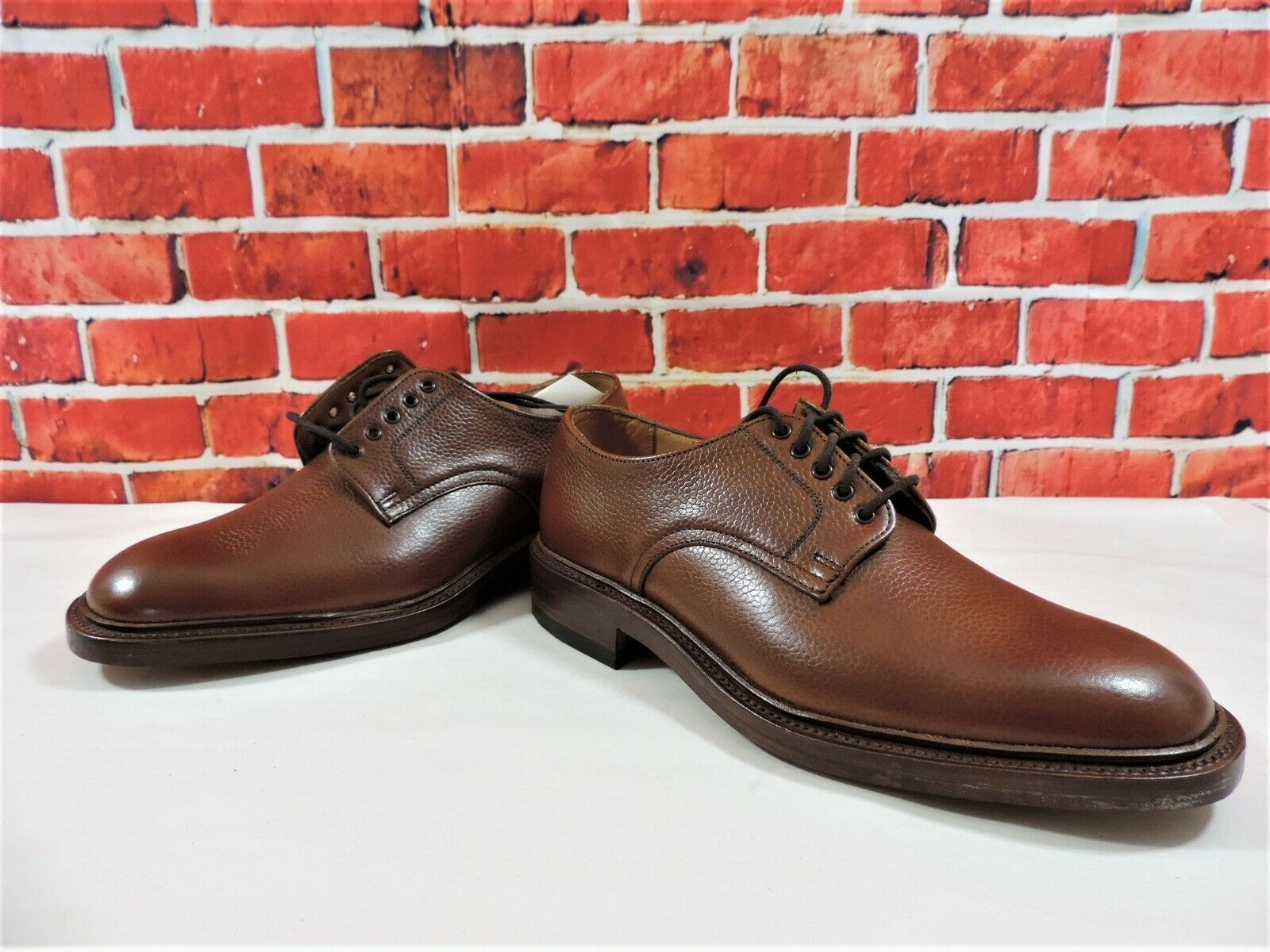 New Loake   Goodwood braun Tan Full Grain Calf Country UK 6 F US 7 EU 40