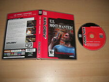 US MOST WANTED Pc DVD Rom XPL - FAST POST