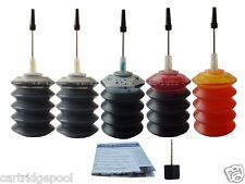 Refill ink kit for Lexmark 14 A 15A  X2650 X2670 5X30ML