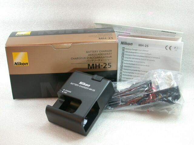 Nikon Mh 25 Quick Charger for El15