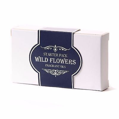 Fragrant Oil Starter Pack - Wild Flowers (5 x 10ml) (SP10FOWILDFLOW)