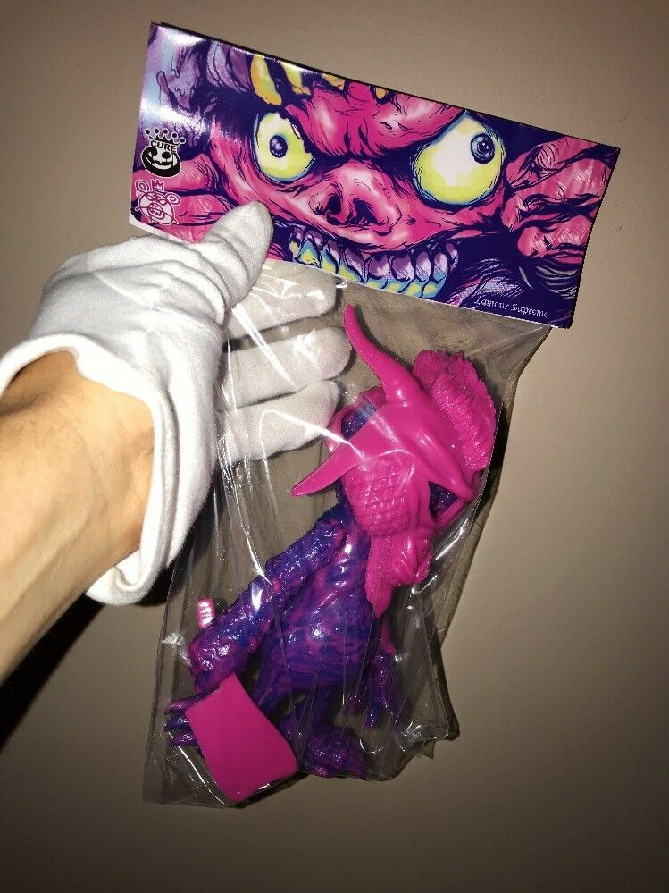 MNWKA Mishka vs cura Mármol Ver. Boogie-Man Kaiju monstruo base secreta vinilo