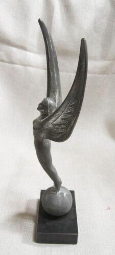 "Waldorf Astoria NYC Spirit of achievement trophy or paperweight 10/"" sanded alum"
