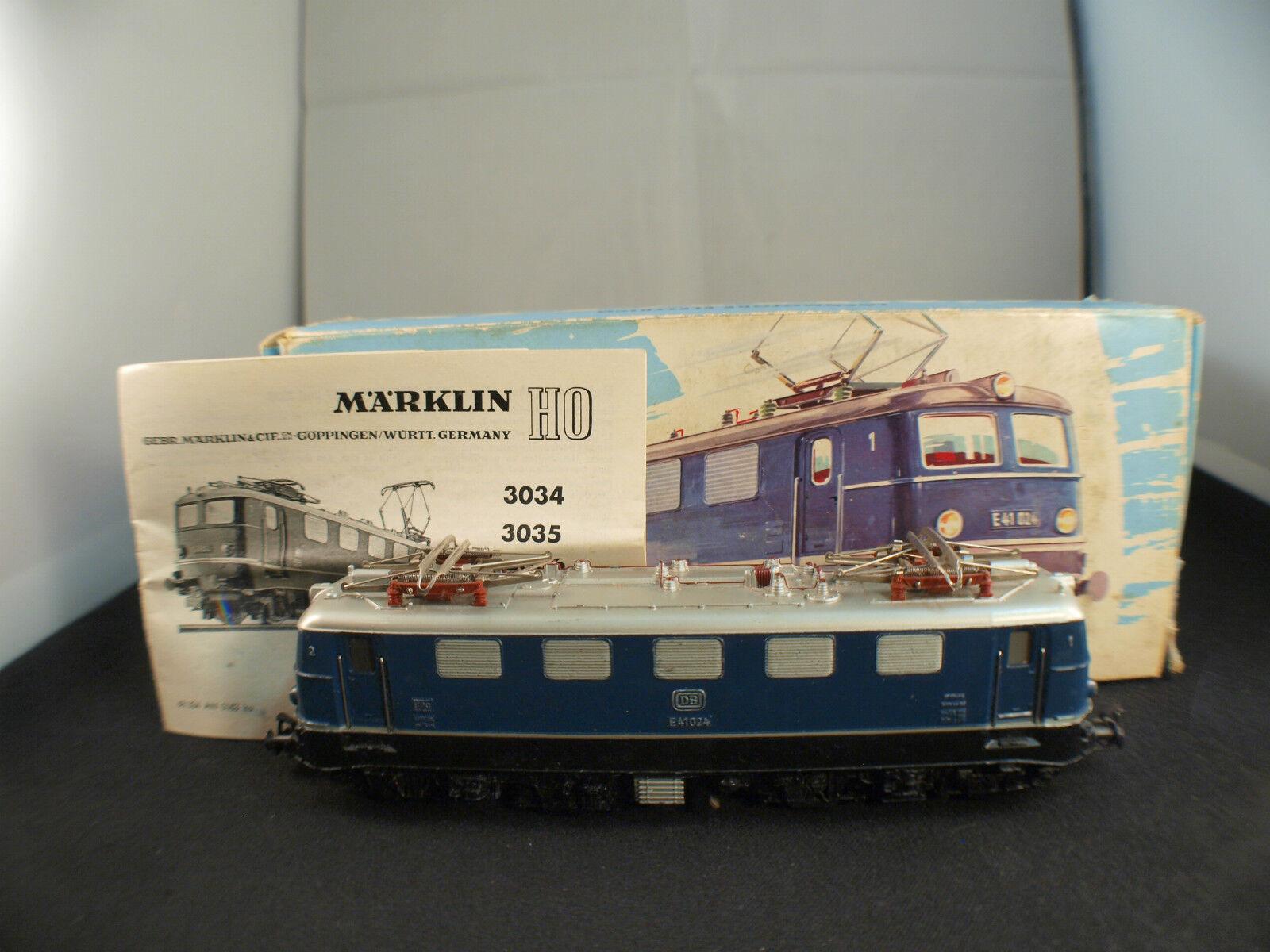 Märklin 3034 Motrice électrique Baureihe E41024 DB neuf en boite MIB