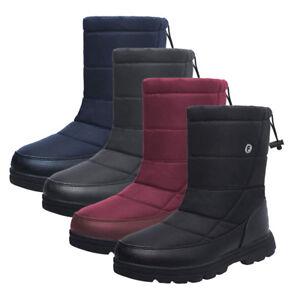 Details zu Damen Herren Schuhe Outdoor Snow Boots Winter Stiefel Stiefeletten gefüttert