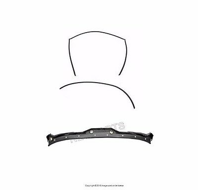 BMW E39 97-03 OES Rear Upper & Lower Windshield Moulding Trim  Windshield Wiper