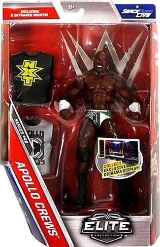 NEW WWE Wrestling Elite Flashback Collection Figure Apollo Crews Smack Down Live