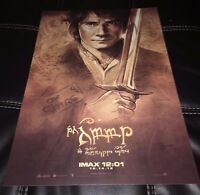 The Hobbit Bilbo Baggins Sketch Art Imax Movie Premiere Poster Print Elven