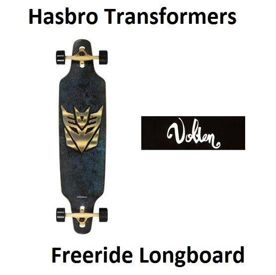 Volten longboard freeride Hasbro Transformers Decepticon Icon