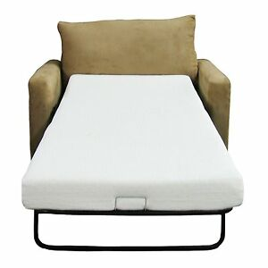 Image Is Loading Sofa Memory Foam Mattress Replacement Bed Twin Size