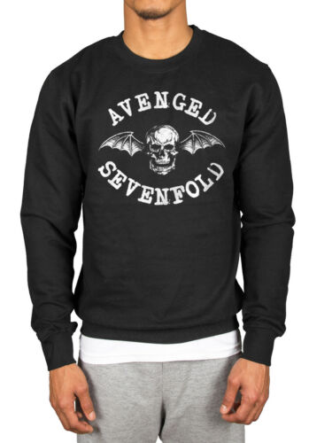 Official Avenged Sevenfold Death Bat Sweatshirt Hail To The King Nightmare AS