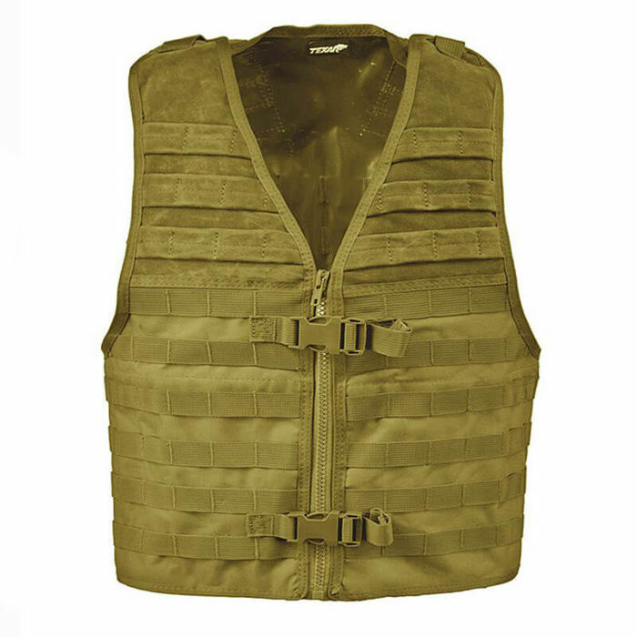 Texar chaleco Tactical military estilo molle Combat army assault coyote