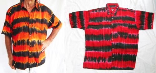 Forte Hawaiano Tie-dye Camicia Stag Night Party Vacanze Estate nuove