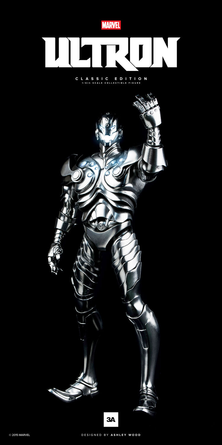 ULTRON Classic Edition 1 6 Scale Collectible Figure 3A