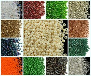 CHOOSE-COLOR-20g-8-0-2-9mm-Seed-Beads-Rocailles-Preciosa-Ornela-Czech-Glass