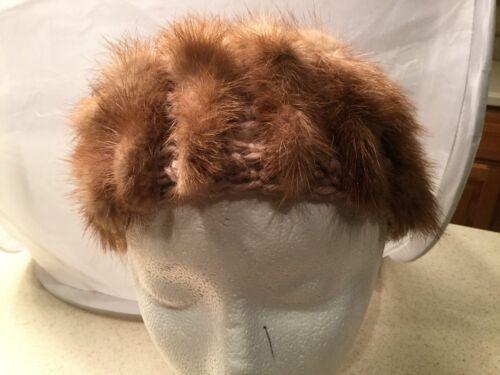 Ladies Vintage Hat Real Fur Best & Co New York Kni