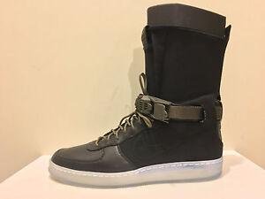 Nike X Acronym Air Force 1 AF1 Downtown HI SP Black Olive Clear 649941-003 8-12