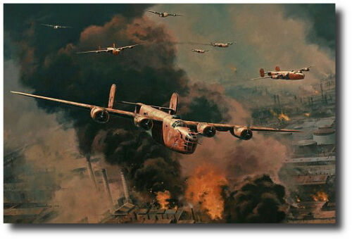 3 Signatures B-24 Liberator To Hell and Back by Anthony Saunders