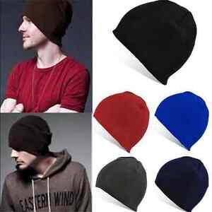 7216b3decc93a0 NEW Unisex Men Beanie Hat Hip-Hop Wool Knitted Ski Skull Winter Warm ...
