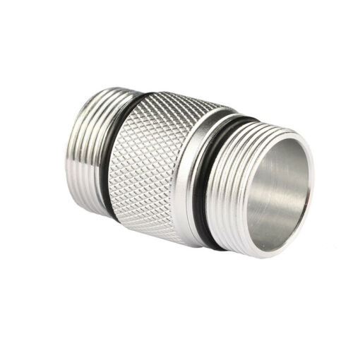 Clear 18350 Battery Tube Extension Body Tube Convoy S2 Flashlight Accessories