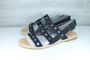 8966053619a Ugg Australia Zariah Studded Bling Black Gladiator Sandals 1090438 ...
