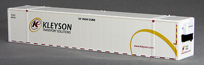 HO 53 FT Heaters/Kleysen Trucking Container, White 2PK (02) (0004-088078)