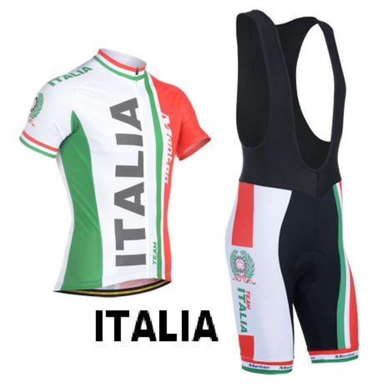 CICLISMO ABBIGLIAMENTO CYCLING COMPLETO CYCLING ABBIGLIAMENTO SET ITALY 2018 ITALIA MTB BICI BIKE 89dd8f