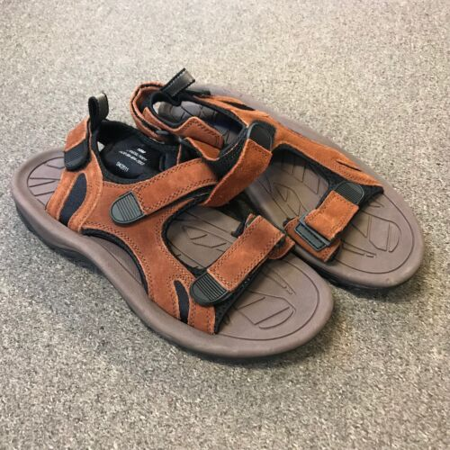 UK BRITISH ARMY SURPLUS ISSUE HOT WEATHER BROWN /& BLACK SUEDE LEATHER,SANDALS