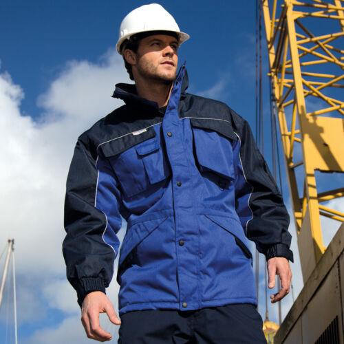 R72X Result Work-Guard Heavy Duty Combo Coat Waterproof Mens Workwear Jacket