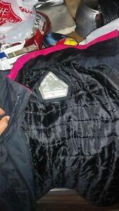 Zeroxposur Womens Euc Black Pink Rain Wind Resistant
