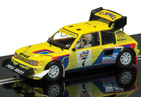 Scalextric Peugeot 205 T16 Pikes Peak Rally Slot Car 1/32 C3641 on sale