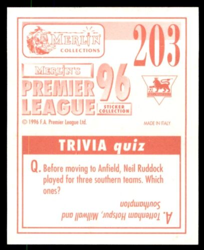 203 Merlin Premier League Daniele Dichio Queens Park 96-Rangers no