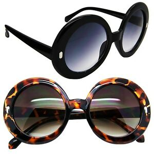 Big Thick Frame Glasses : Big Oversized Round Sunglasses Vintage Thick Frame Women ...