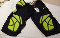 Men's Under Armour Compression Football Shorts Black Size Xl