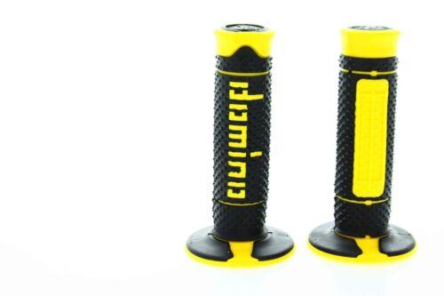 Pinzamientos Domino negro amarillo Motocross Enduro Suzuki RM AMORT Dr