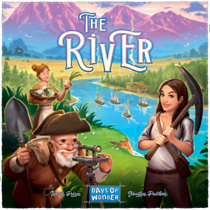 The River Board Game - Days of Wonder - Family Fun Age 8+ - New for 2018