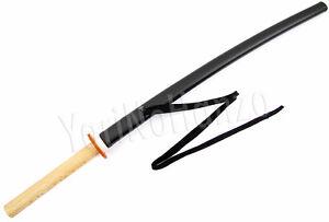 Bokken-Daito-mit-Saya-und-Tsuba-aus-Kunststoff-fuer-Aikido-Kenjutsu-Iaido-Kendo