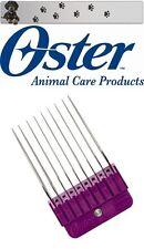 OSTER MOSER MAX 45 - WAHL - ANDIS - AESCULAP ROSTFREIER STAHL AUFSTECKKAMM 32 MM