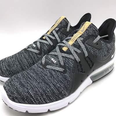 Nike AIR MAX SEQUENT 3 (GS) Black White Dark Grey