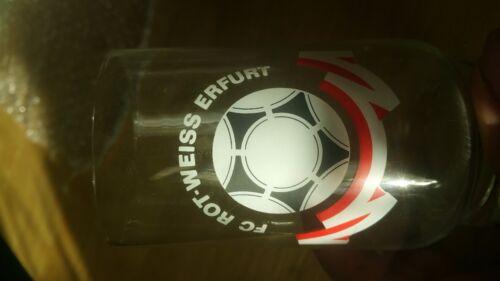G296 GLAS FC ROT WEISS ERFURT RWE  DFV DFB Fussball Sport DDR Oberliga H12,5cm Fußball-Trikots