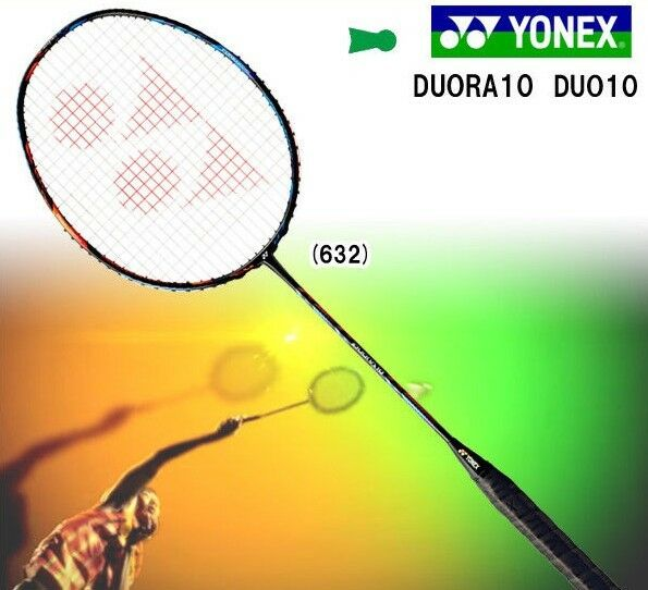 New Collor JAPAN Version YONEX Duora 10 Badminton Racket 3U5 Choice of String