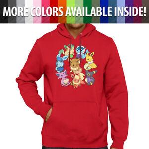 Eeveelution-Pokemon-Cute-Eevee-Evolve-Go-Pullover-Hoodie-Jacket-Hooded-Sweater