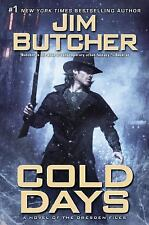 Cold Days: A Novel of the Dresden Files by Butcher, Jim SIGNED 1ST ED. FR/SHIPPI
