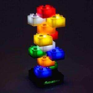 Light Stax LED Building Blocks Staxable Night Lamp 12 piece starter set