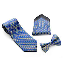 Lodge Gift Craft Masonic 100% Silk Pocket Handkerchief Tie Bow tie matching set
