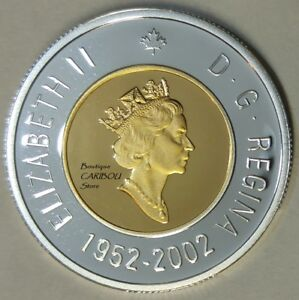 2002-Canada-Silver-Proof-Toonie-24-Kt-Gold-Plated