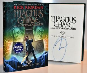 Image Is Loading SIGNED 1 Magnus Chase And The Gods